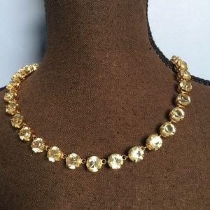 Ann Taylor Jewelry - Ann Taylor Crystal Statement Necklace